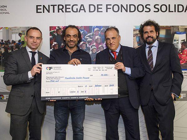 La Fundación Carlos Pauner recoge los fondos de Champions for Life