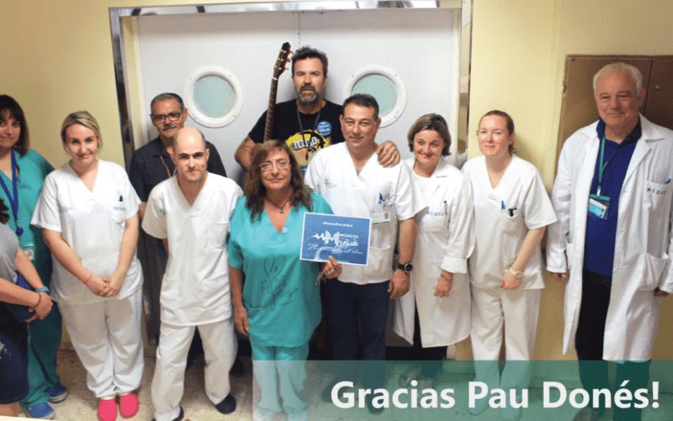 Pau Donés colabora con #MúsicosPorLaSalud